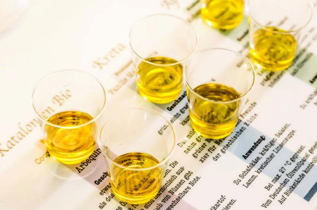 Olivenöl Tasting