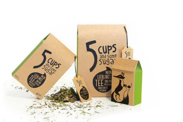 5CUPS Teefuchs looser Tee