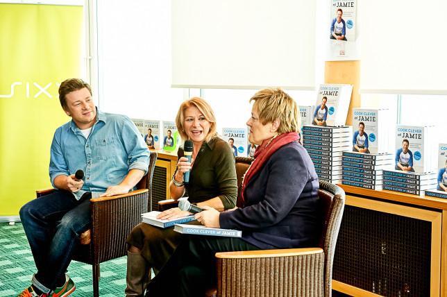 Jamie Oliver und Renate Künast: Cook clever mit Jamie