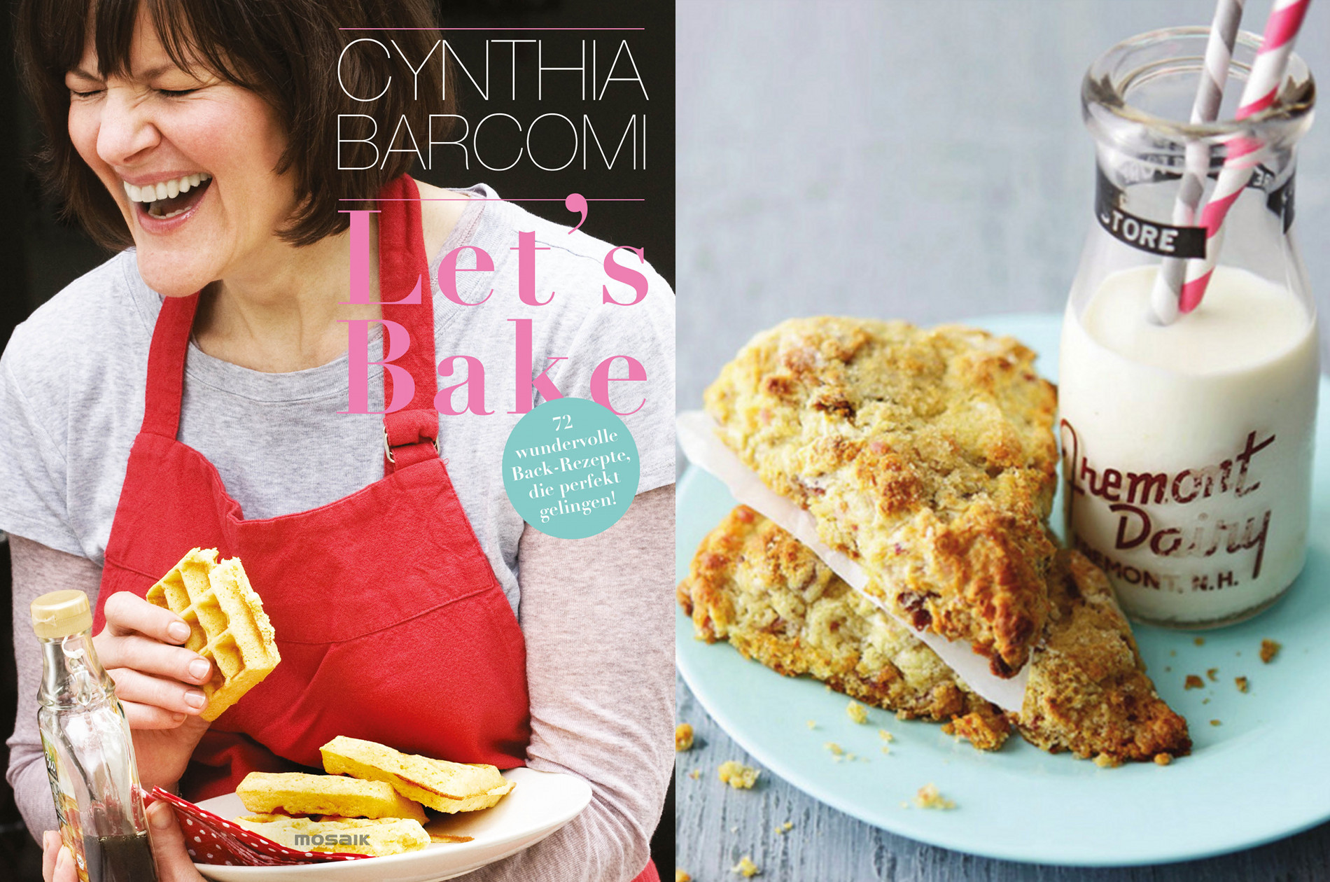backbuch cynthia barcomi let s bake cookionista. Black Bedroom Furniture Sets. Home Design Ideas