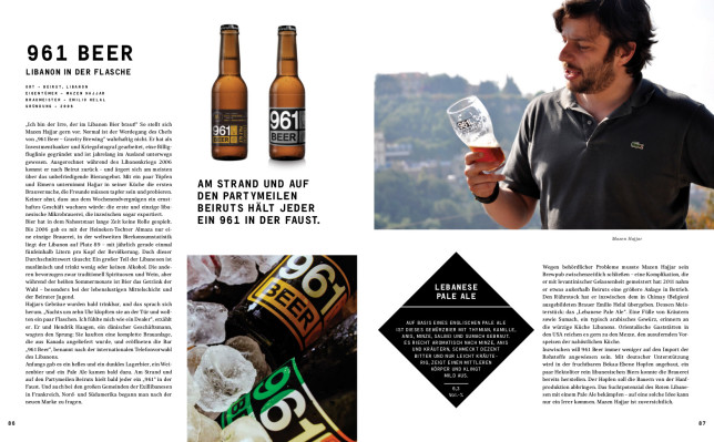 Mazen Hajjar braut im Libanon Craft-Beer