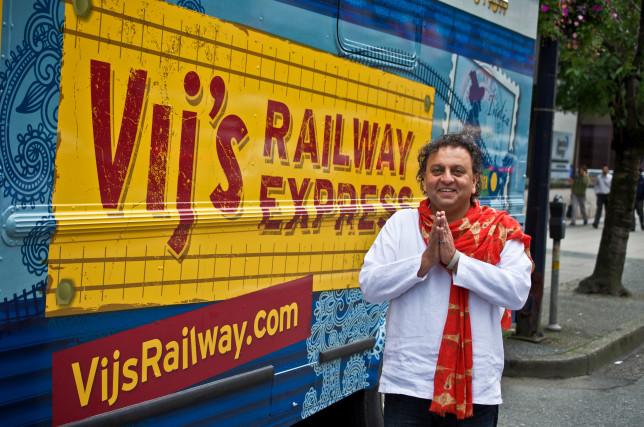 Ein Food-Star in Kanada:Gastrolegende und TV-Star Vikram Vij