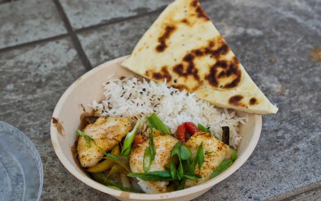 Halibut Cheek Curry von Vij´s Railway Express