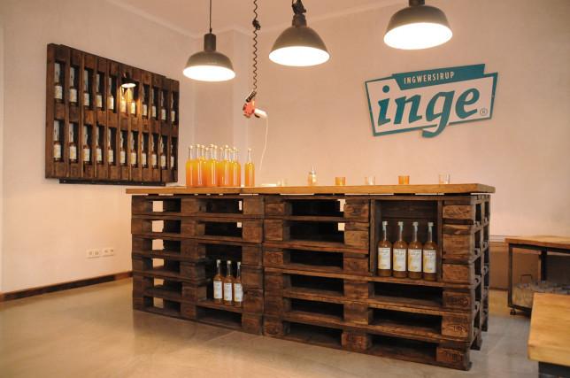 Das Inge Ladencafé in derWatzmannstraße 2 in München Giesing.