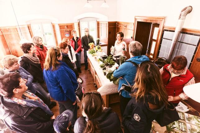 Liebevoll saniert: Die Gaststube der Oedmühle