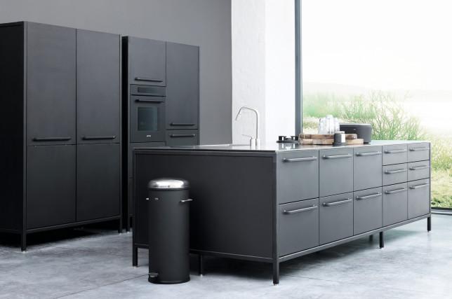 Vipp Küche schwarz