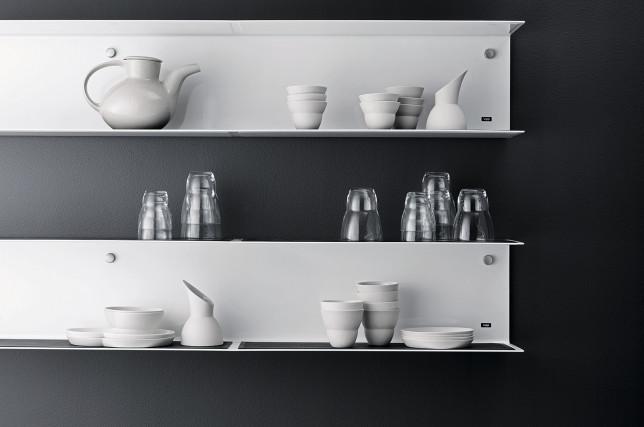 Vipp Küche Regal weiß