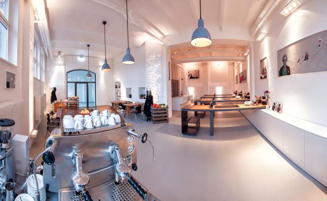 Der Koch.Kunst.Raum als Panorama
