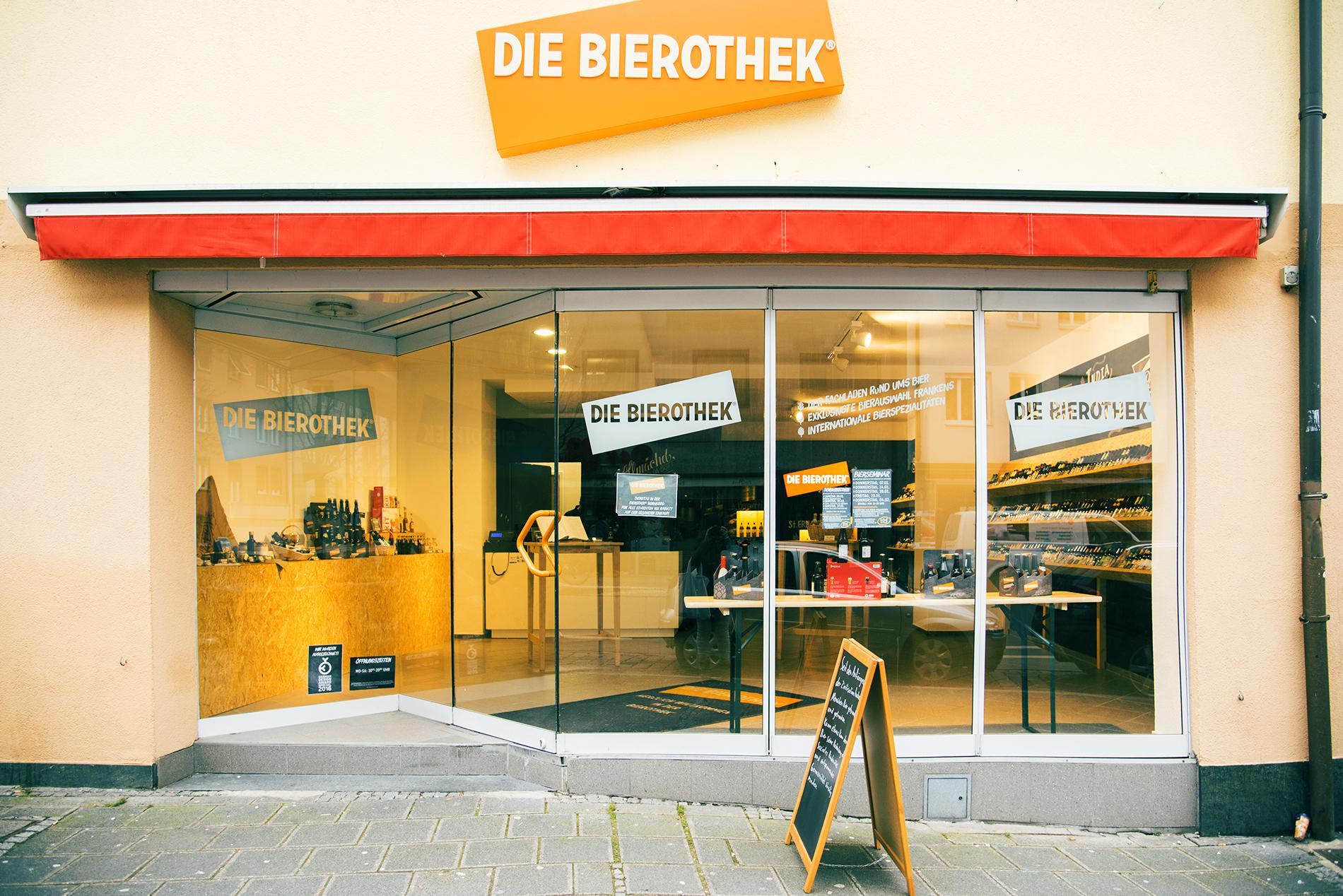 Fassade Bierothek Nürnberg