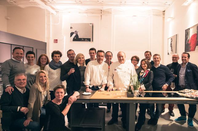 Kochshow mit Alfons Schuhbeck in der cookionista Kochschule
