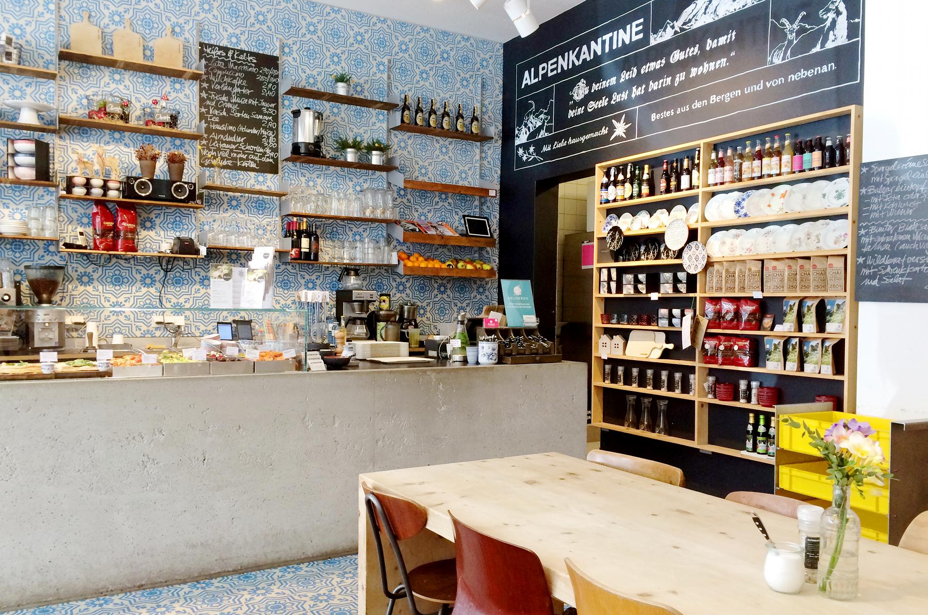 Café und Restaurant Alpenkantine Hamburg