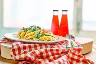 Spaghetti mit Mönchsbart