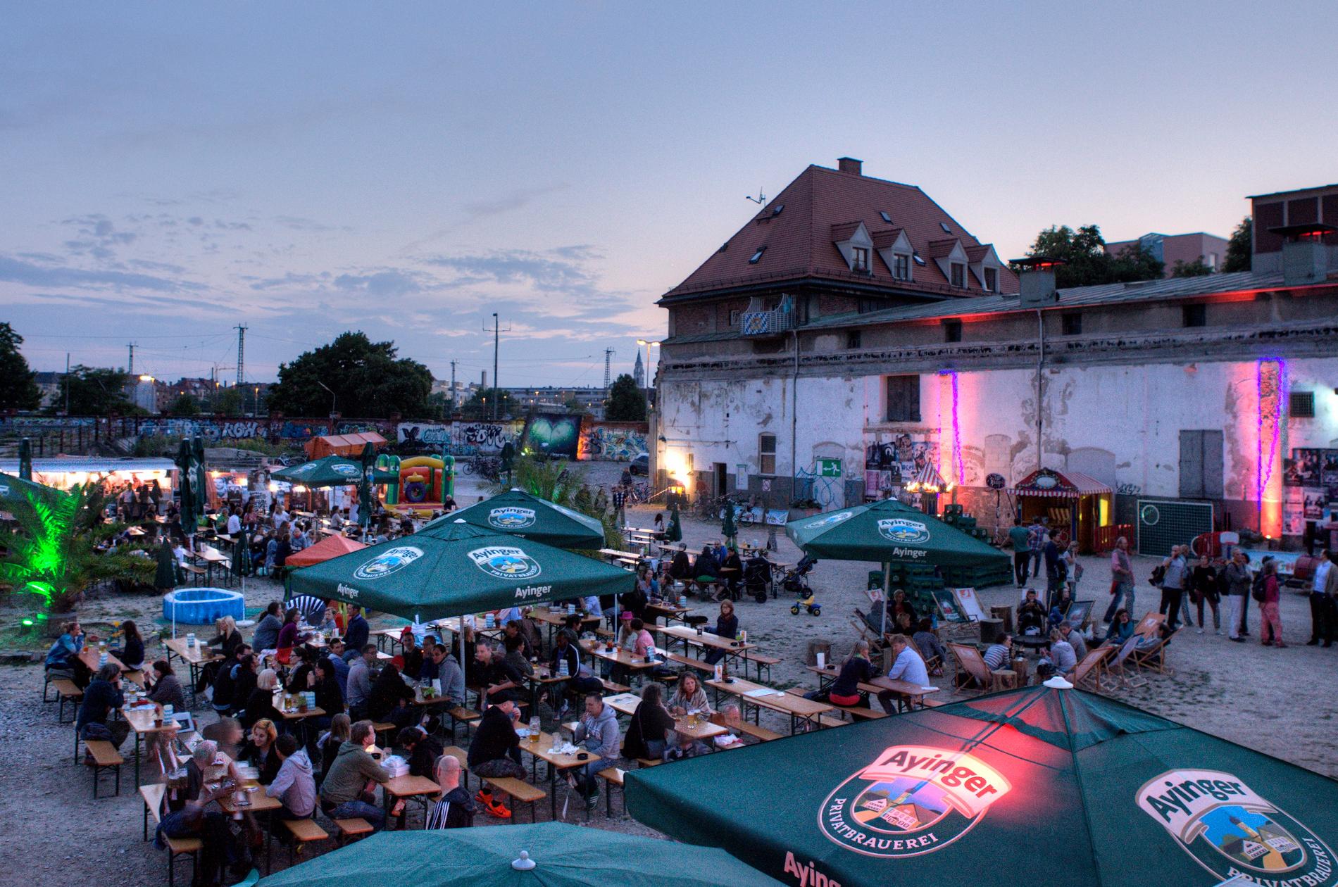 Biergarten Viehhof