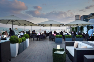 O2 Lounge Moskau Rooftop Bar