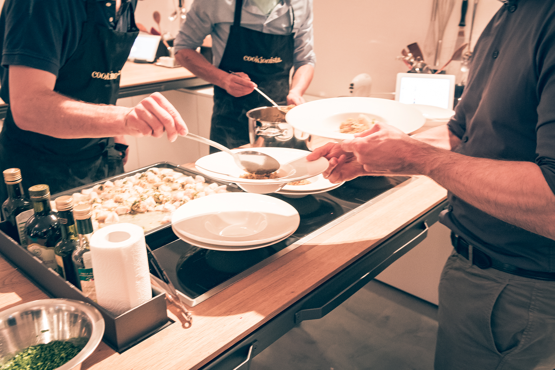 Gruppenevents - zusammen kochen