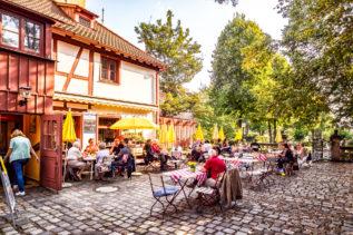 Kaffeestube am Hesperidengarten Nürnberg