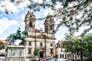 Egidienkirche - Stadtführung durch das Nürnberger Stadtviertel Egidien
