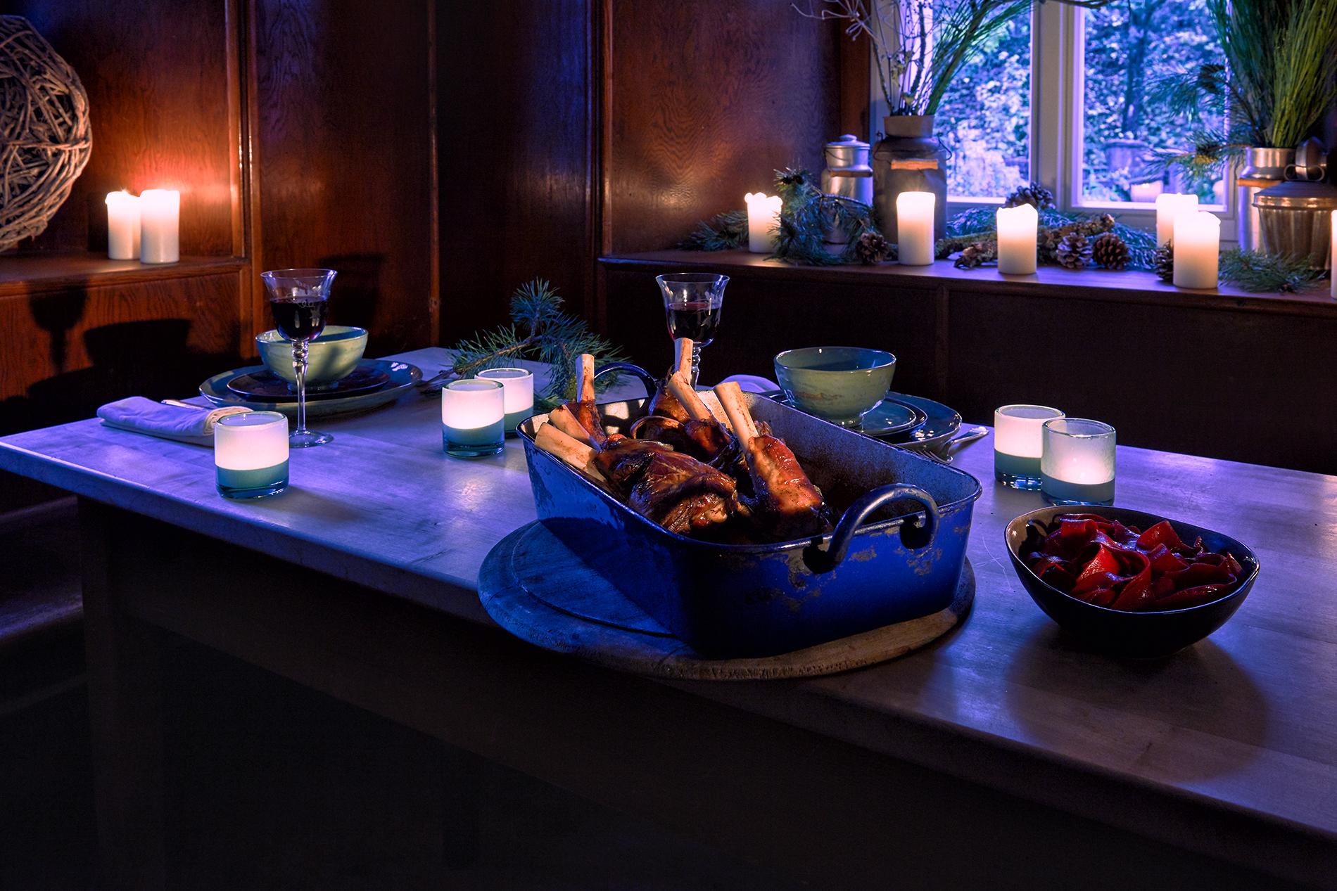 lammhaxen mit rote beete nudeln und bunten r ben cookionista. Black Bedroom Furniture Sets. Home Design Ideas