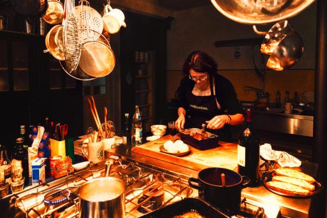 Küche in der Oedmühle