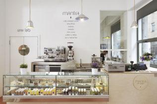 Restaurant mantra raw vegan in Mailand