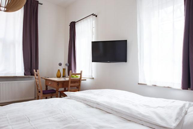 Cookionista Apartment - Blick aus dem Bett