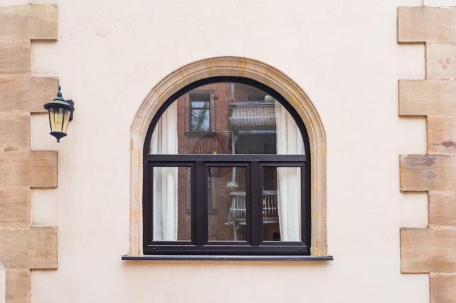 Cookionista Apartment - Fenster von außen