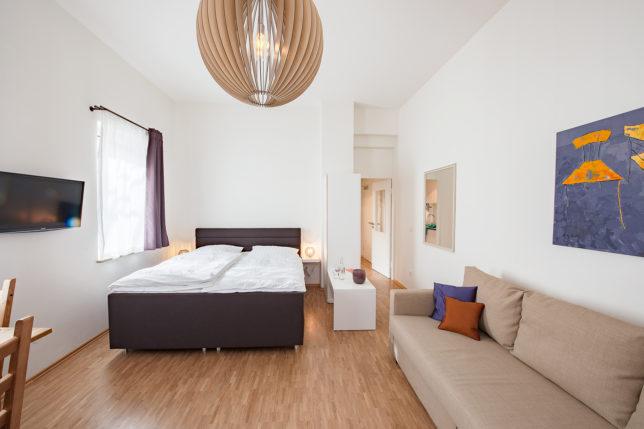 cookionista Apartment Nürnberg - Wohnzimmer