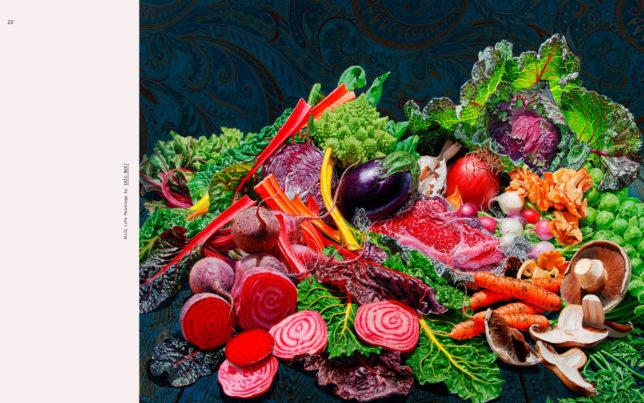 Stillleben des Malers Eric Wert im Buch Visual Feast