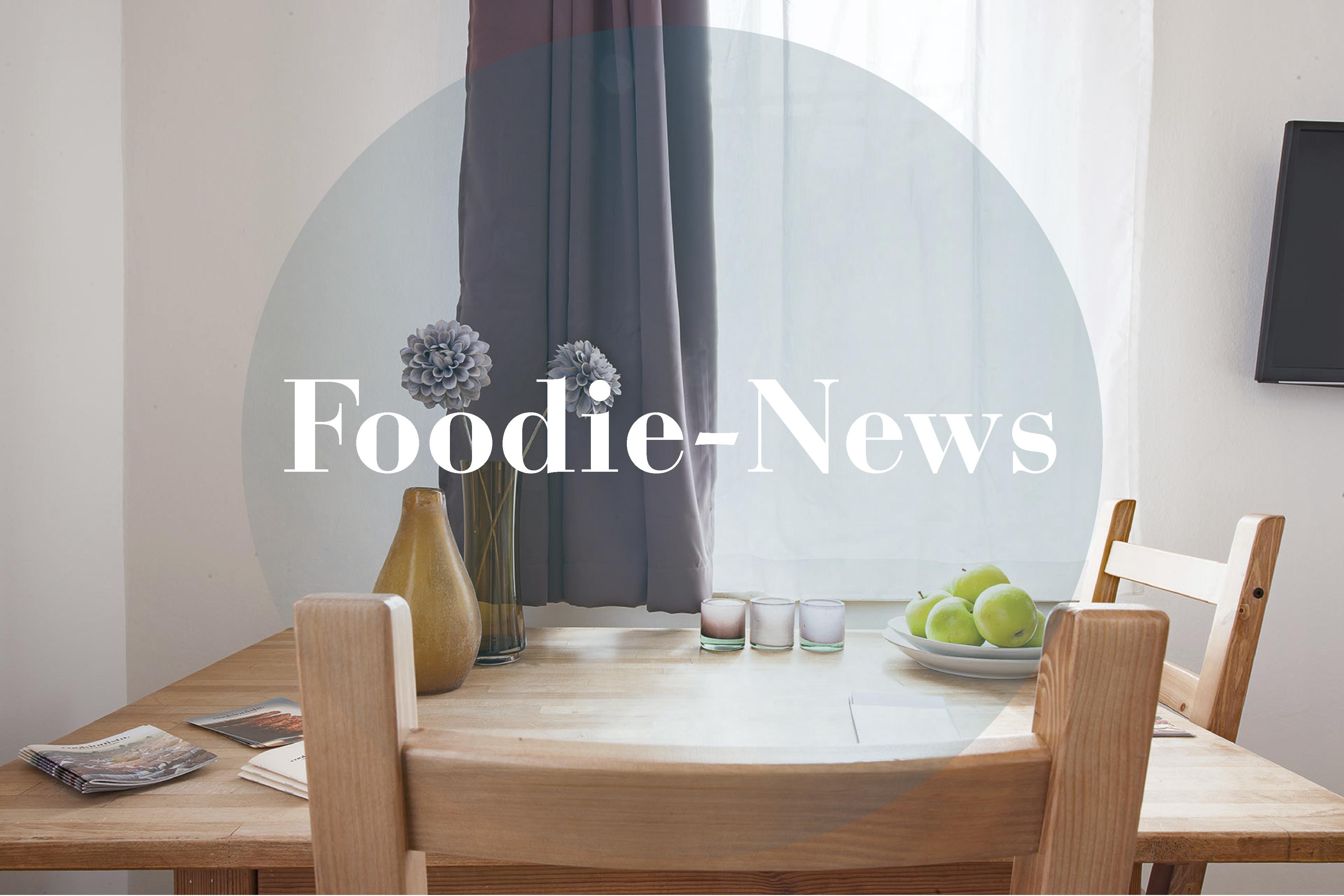 Foodie-News für den Monat Mai