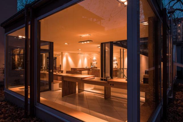 Blick ins Innere der Cookionista Kochschule Bucherstraße