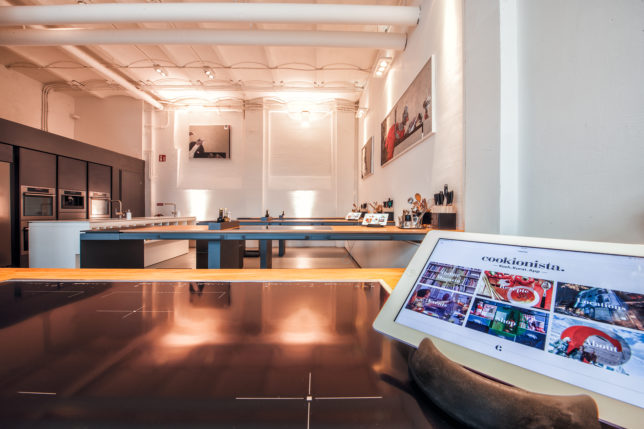 I-Pad im cookionista Meetingraum