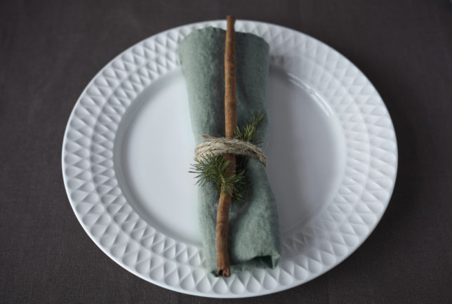 Weihnachtliche Tischdeko Selection Gustavia